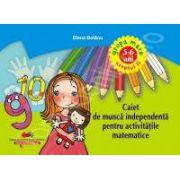 Caiet de munca independenta pentru activitatile matematice grupa mare nivelul II 5-6 ani