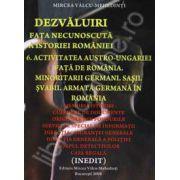 Activitatea Austro-Ungariei fata de Romania. Minoritarii germani. Sasii. Svabii. Armata germana in Romania