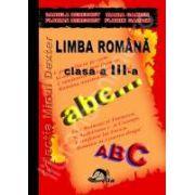 Culegere Limba romana Clasa a III-a