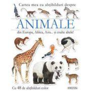 Animale din Europa, Africa, Asia… si multe altele!cu 48 abtibilduri