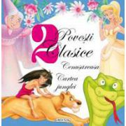 Colectia 2 povesti clasice: Cenusareasa si Cartea junglei