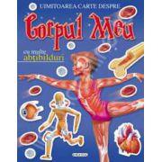 Uimitoarea carte despre corpul meu cu multe abtibilduri