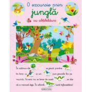 O excursie prin jungla carte cu abtibilduri