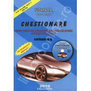 Chestionare pentru categoria B - 2010 (Contine CD)