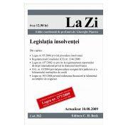 Legislatia insolventei (actualizat la 10.08.2009)