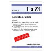 Legislatie notariala (actualizata la 25.10.2009)