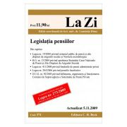 Legislatia pensiilor (actualizat la 05.11.2009)