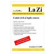 Codul civil si legile conexe (actualizat la 05.11.2009)