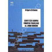 Cercetari asupra fondului traco-dac al limbii romane