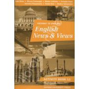 English News and Views activity book - Caiet pentru clasa a 11-a