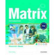 Matrix Introduction Teachers Book