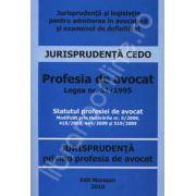 Profesia de avocat. Legea nr. 51/1995