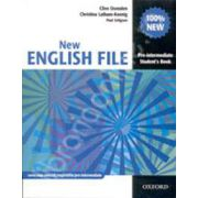 New English File Pre-Intermediate Students Book