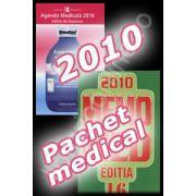 Pachet. Agenda medicala 2010 - editia de buzunar si MEMOMED 2010. Memorator de farmacologie si ghid farmacoterapic