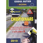 Chestionare cu CD pentru verificarea raspunsurilor - Categoria B