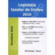 Legislatia taxelor de timbru 2010