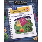 Matematica clasa a III-a. Caiet pentru timpul liber