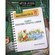 Matematica clasa a VII-a. Caiet pentru timpul liber