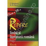 Repere de limba si literatura romana pentru clasa a VIII-a