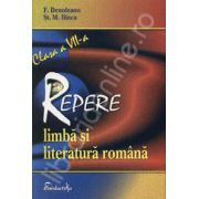 Repere de limba si literatura romana pentru clasa a VII-a