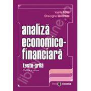 Set: Analiza economico-financiara. Editia a II-a + Analiza economico-financiara. Teste grila. Ed. a II-a