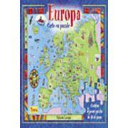 Europa - carte cu puzzle