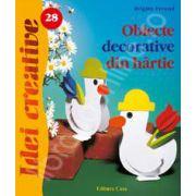 Obiecte decorative din hartie - Idei Creative