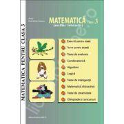 Matematica pentru clasa a 3-a. Auxiliar interactiv