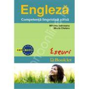 Engleza - Compententa lingvistica scrisa. Eseuri