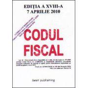 Codul fiscal 2010 - actualizat la 17 aprilie 2010 ultimul act modificator OuG 22/2010 MOf 201 din 30 martie 2010