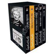 Colectia Agatha Christie (Cei cinci purcelusi, Crima din Mesopotamia, Misterul trenului albastru, Pisica printre porumbei, 13 la cina)