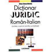 Dictionar Juridic Roman-Italian (Cuvinte, expresii juridice si definitii)