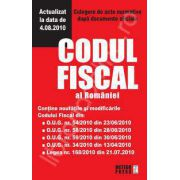 Codul fiscal al Romaniei. Culegere de acte normative