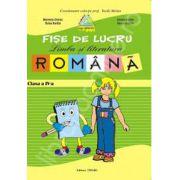 Fise lucru limba romana clasa a IV-a (Verde)