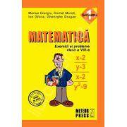Matematica. Exercitii si probleme. Clasa a VIII-a, semestrul I
