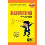 Matematica. Exercitii si probleme. Clasa a VII-a, semestrul I
