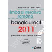 Limba si literatura romana. Bacalaureat 2011