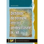 Dictionar de termeni literari pentru clasele IX-XII