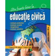 Educatie civica, clasa a III-a (Stiu foarte bine la...)
