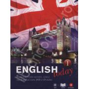 English today incepatori nivelul unu (Volumul 1). Curs de engleza (carte, DVD, CD audio)