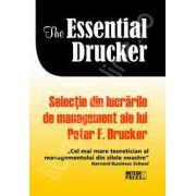 Selectie din lucrarile de management ale lui Peter F. Drucker