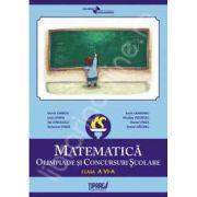 Olimpiade si concursuri scolare, matematica, clasa a VI-a