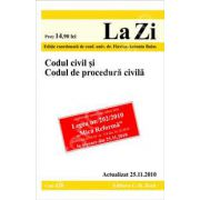 Codul civil si Codul de procedura civila. Actualizat la 25.11.2010