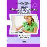 Limba si literatura romana. Auxiliar pentru clasa a VIII-a, sem. 1