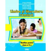Limba si literatura romana. Auxiliar pentru clasa a V-a
