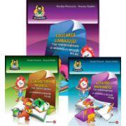 Set - Fise interdisciplinare 5-6 ani (Activitati matematice, Educarea limbajului, Cunoasterea mediului)