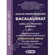 Bacalaureat 2011 - Limba si literatura romana - Comunicare orala