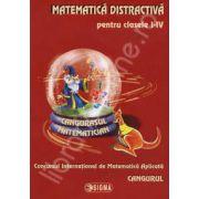Cangurul - Matematica distractiva pentru clasele I-IV, Concursul International de Matematica Aplicata Cangurul