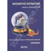 Cangurul - Matematica distractiva pentru clasele V-VIII, Concursul International de Matematica Aplicata Cangurul