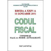 Codul fiscal 2011. Cu toate modificarile si completarile la zi (Contine si O.u.G. nr.58/2010 - Actualizata)